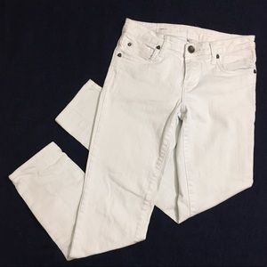 Kut From The Kloth White Diana Skinny Jeans Sz 2